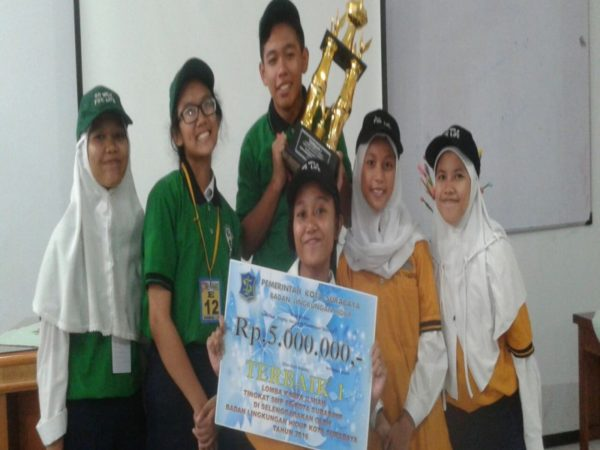 Juara 1 Karya Ilmiah Remaja - PROGRAM ASUH